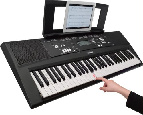 akzeptabel yamaha ez 220 digital keyboard ebay. Black Bedroom Furniture Sets. Home Design Ideas